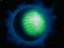 Namek (ナメック星, Namekku-sei) is a planet in a ternary star system, located at coordinates 9045XY. It is the home planet of Kami, King Piccolo, and Dende, along with other Namekians. The planet was destroyed by the wrath of Frieza on December 24th, Age 762. The Namekian people were relocated to New Namek after being refugees on Earth for roughly a year.