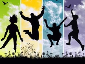 friends-jumping1